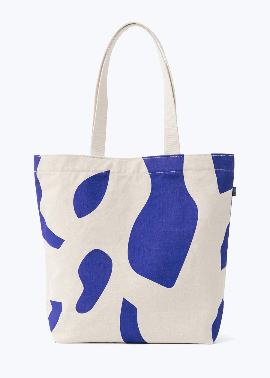 Natural Cutout Canvas Shopper