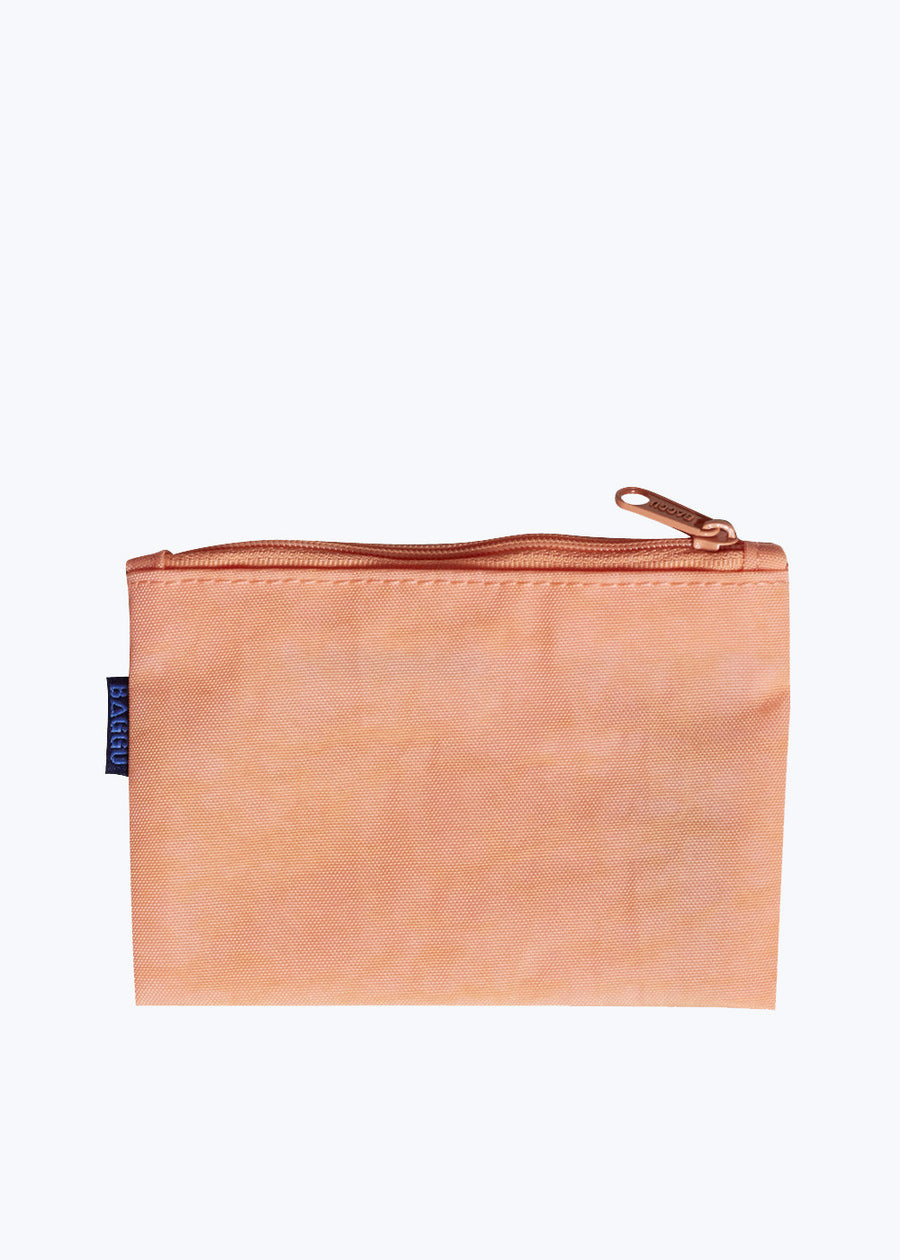 Electric Poppy Small Flat Zip Pouch