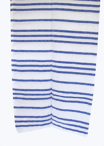 Blue Stripe Beach Blanket