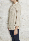 Natural/Brown Power Macao Stripe Shirt