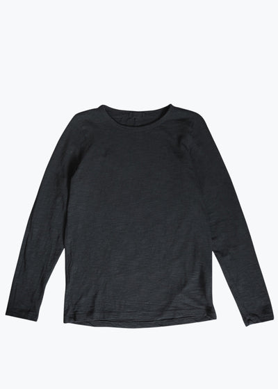 Black Tea L/S Tee (Small- Last One)