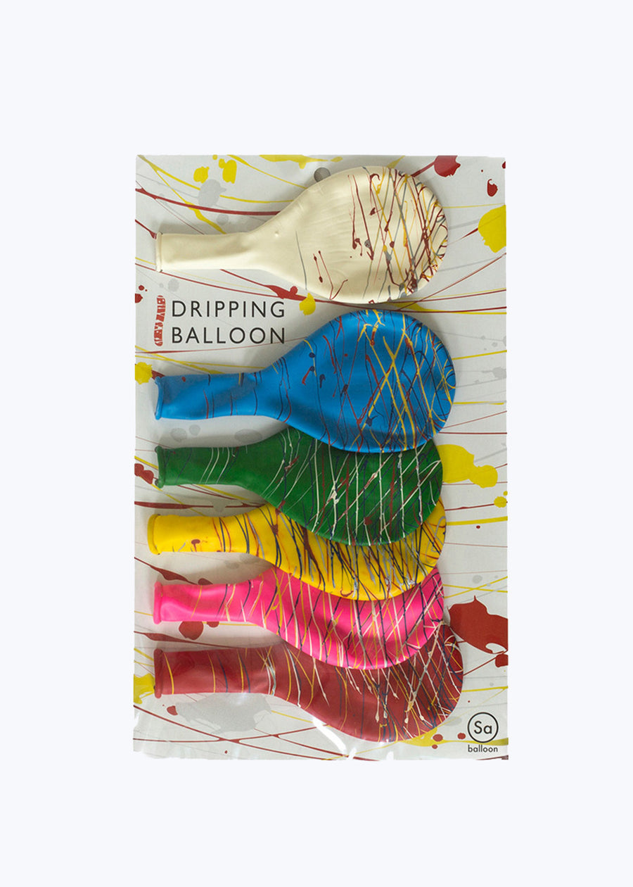 Dripping Balloon Large 6/pk