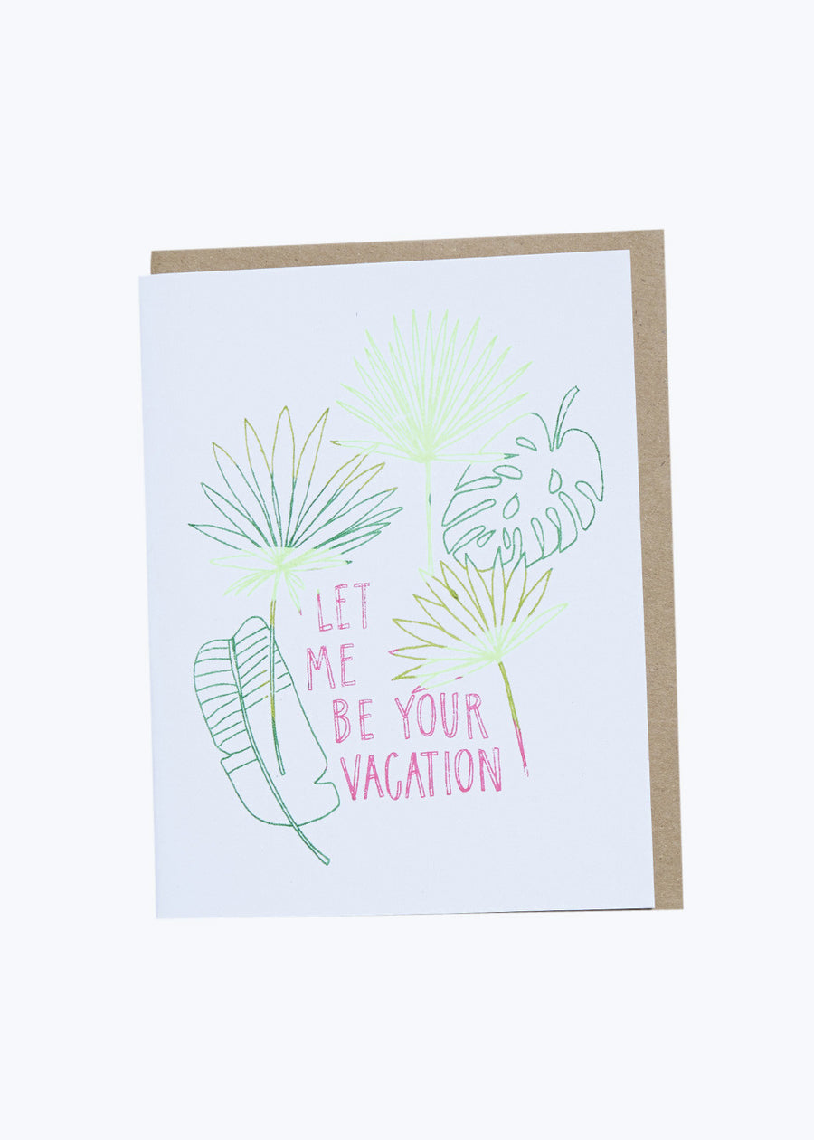 Your Vacation Card