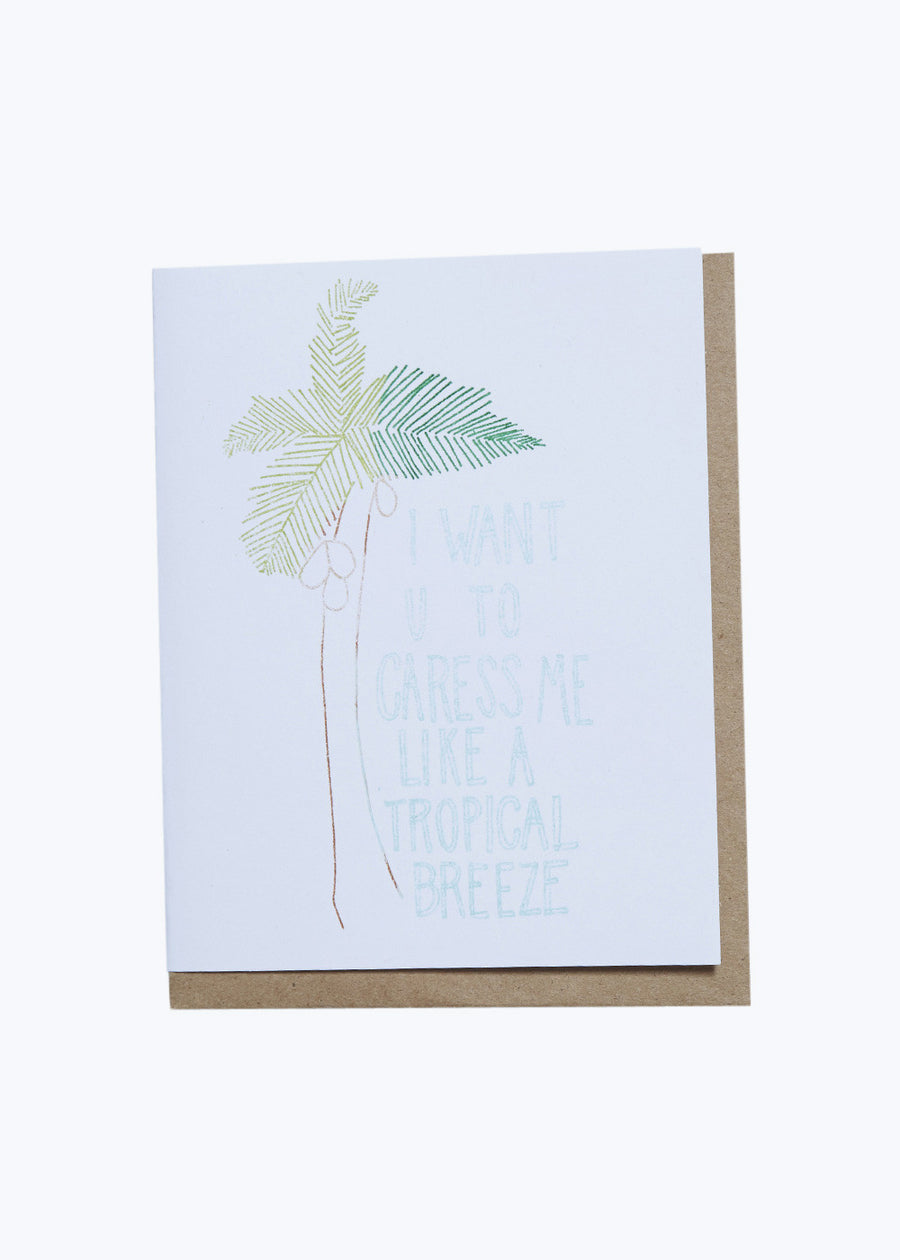 Tropical Breeze Card