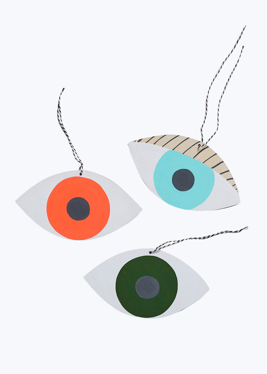 Seafoam Eye Wall Charm