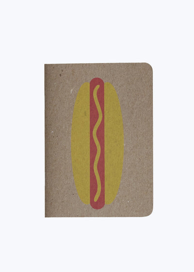 Hot Dog Notebook