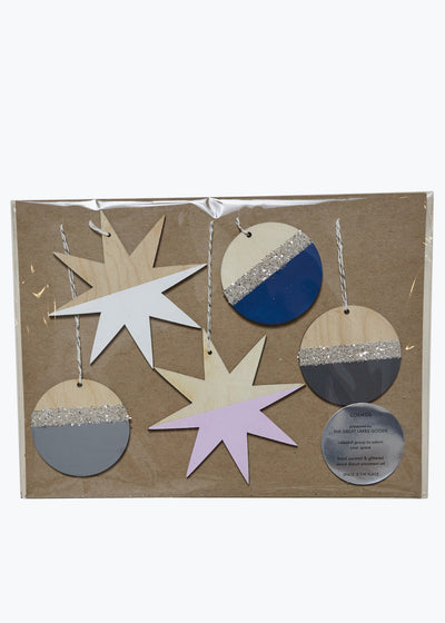 Lights Cosmos Ornament Set