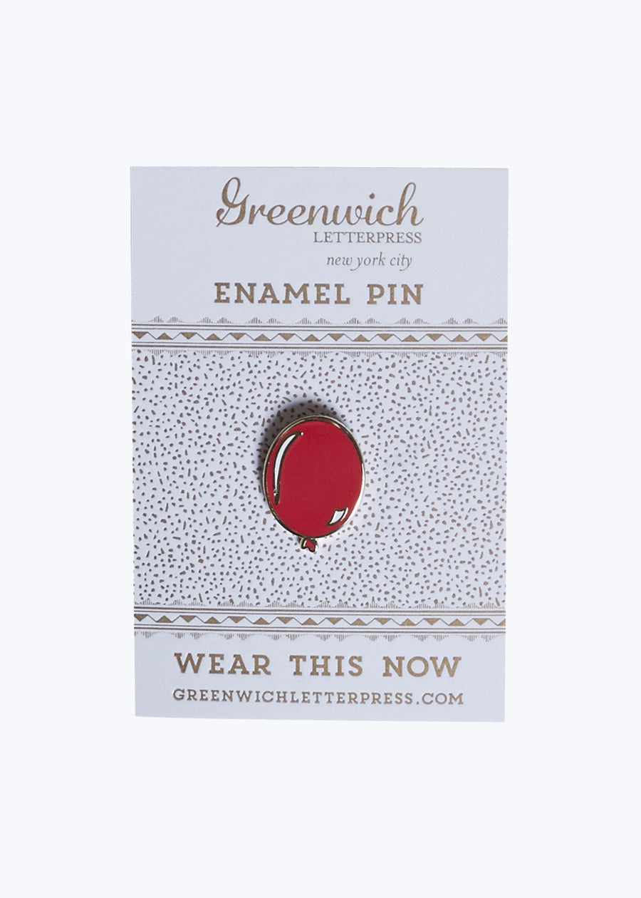 Balloon Enamel Pin
