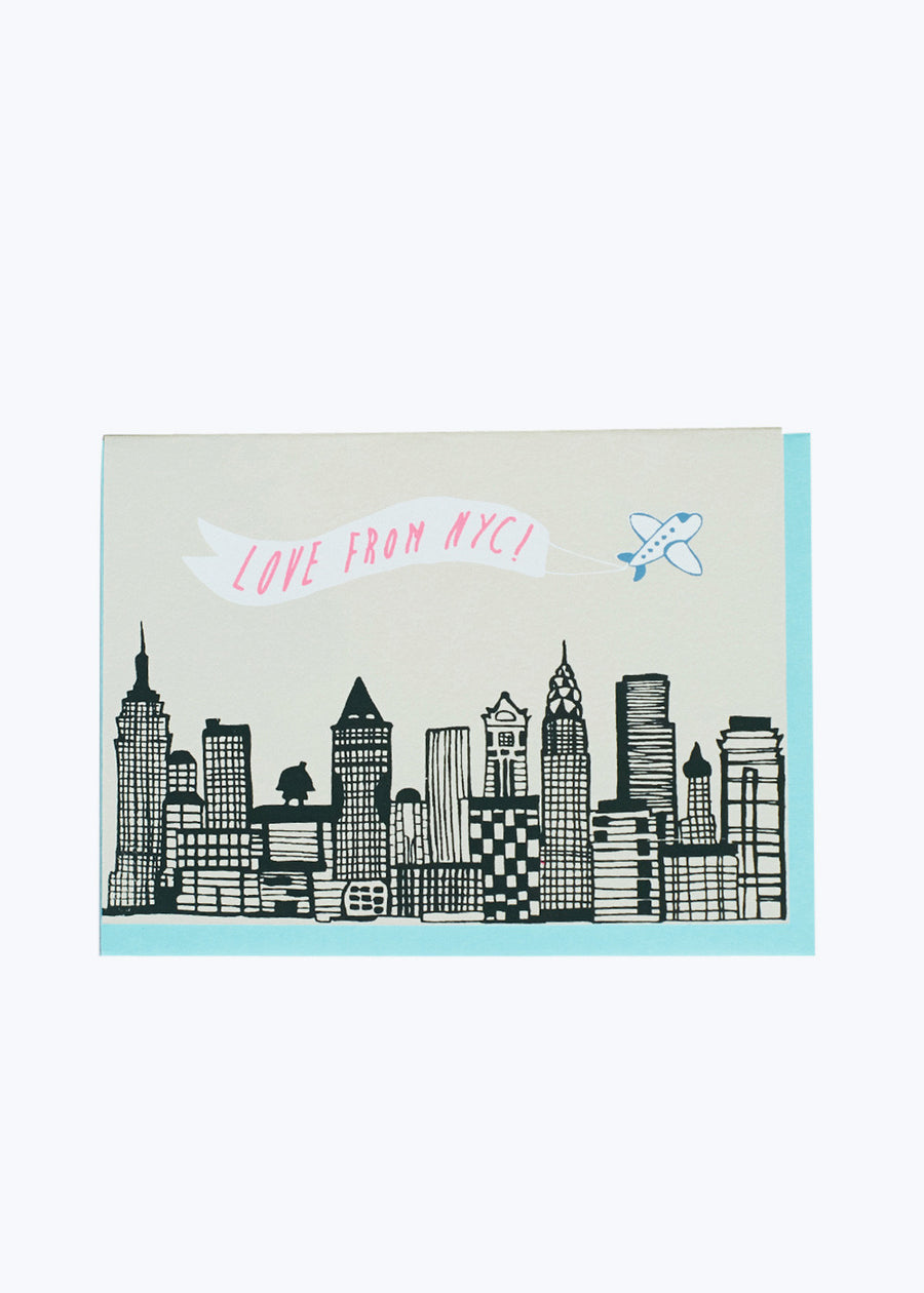 Love From NYC Skyline Card