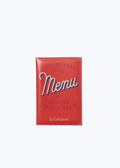 How To Read The Menu Book Set
