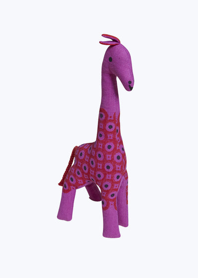 Purple Indian Giraffe-Large