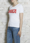 Jamaica Intarsia Sweater Tee-X-Small