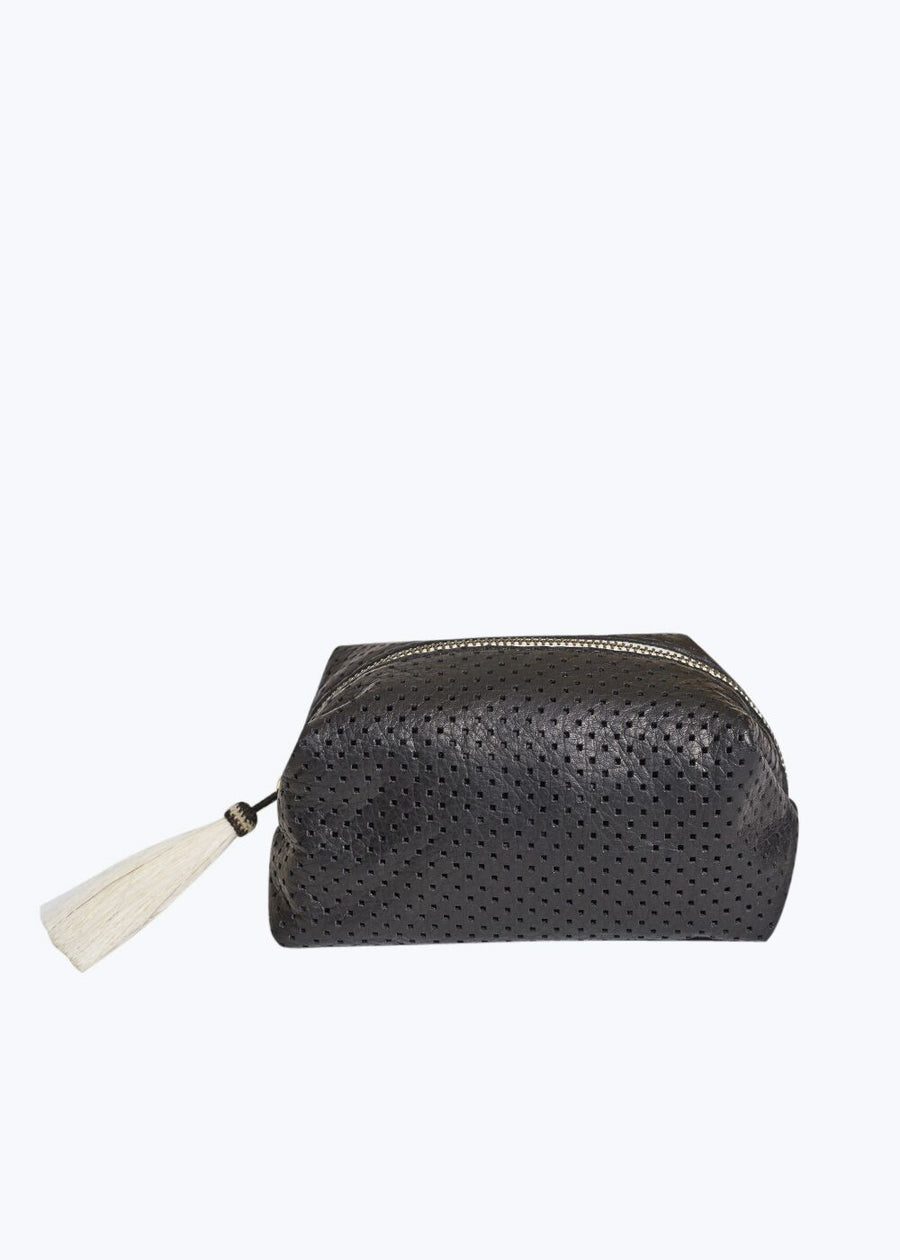 Black Perf Cosmetic Case