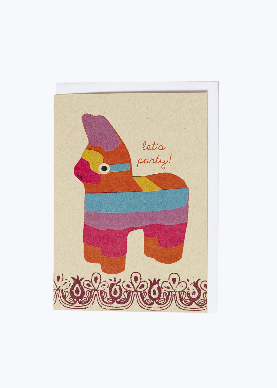 Pinata Party Card