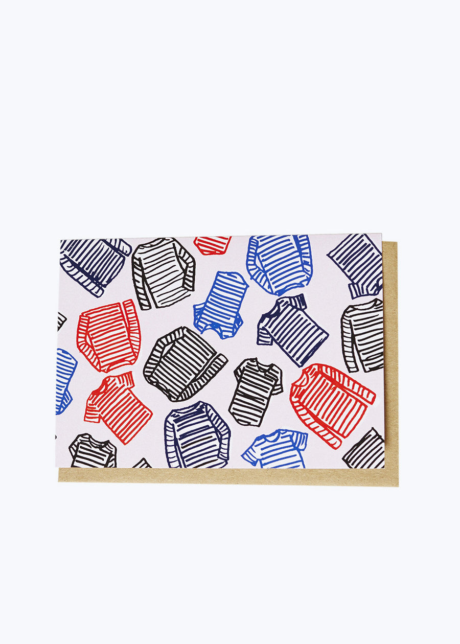 Striped Shirts Card
