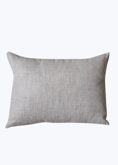 Oatmeal Linen Mi Amor PIllow