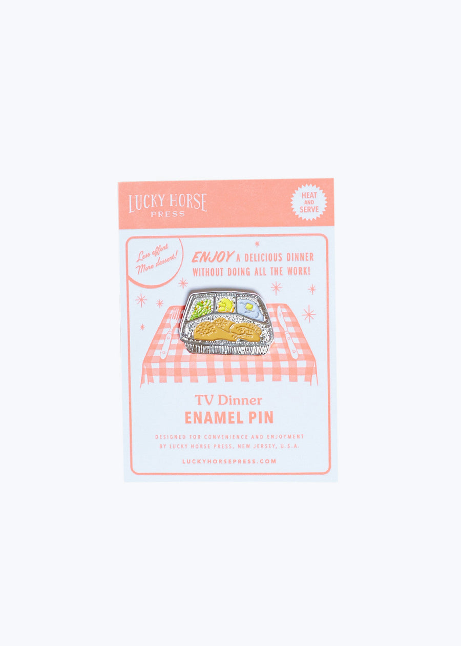 TV Dinner Enamel Pin