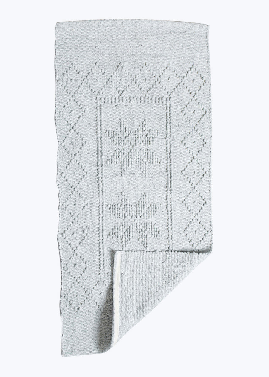 Gray Star Portuguese Bath Mat