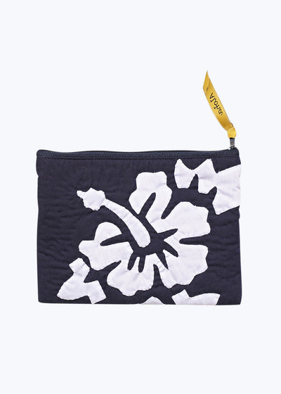 Navy Hawaiian Pouch