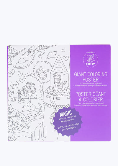 Magic Coloring Poster