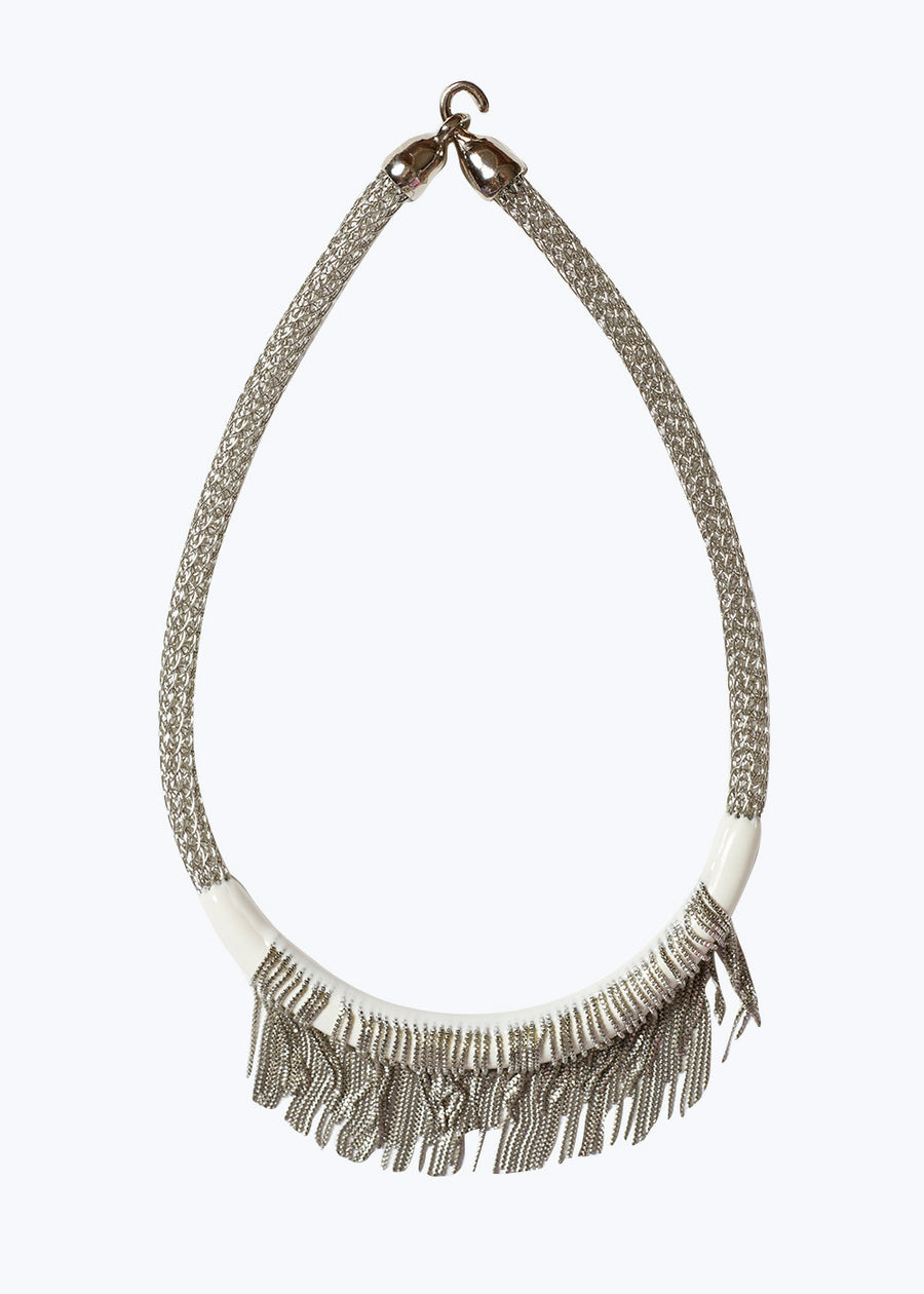 White Kent Necklace