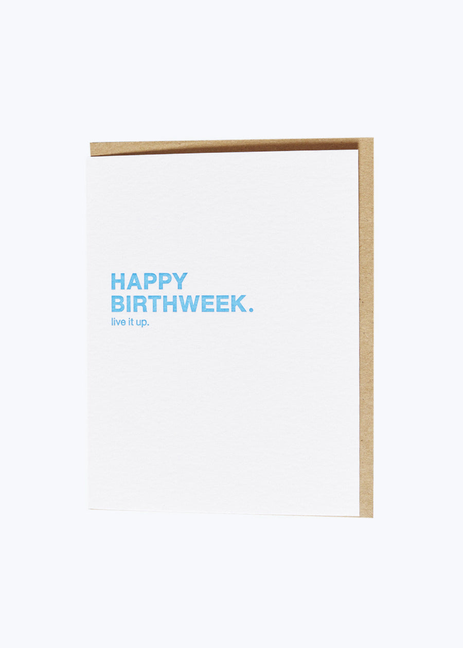 Make A Wish - Birthweek Card