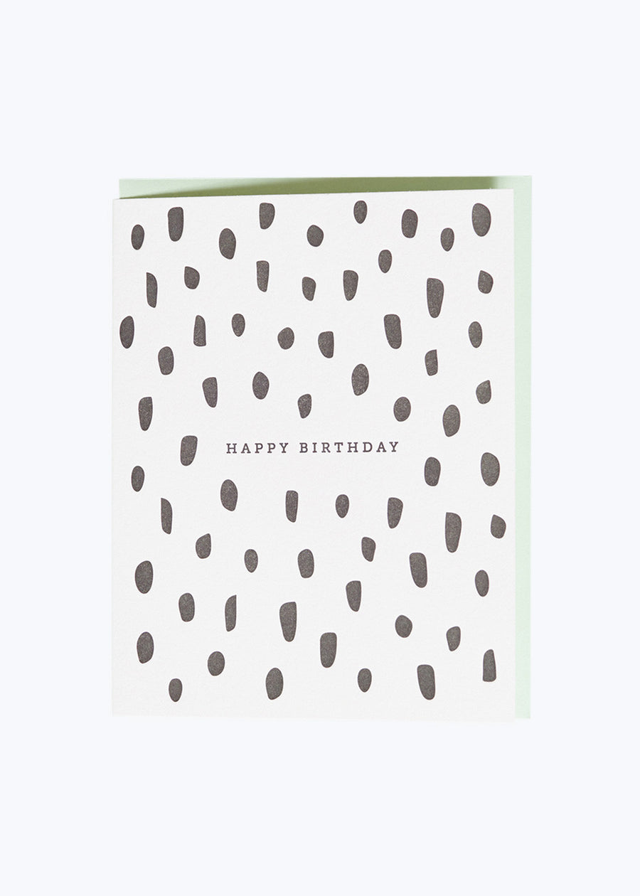 Birthday Brush Card