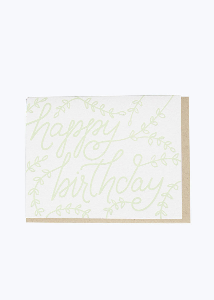 Birthday Branches Card