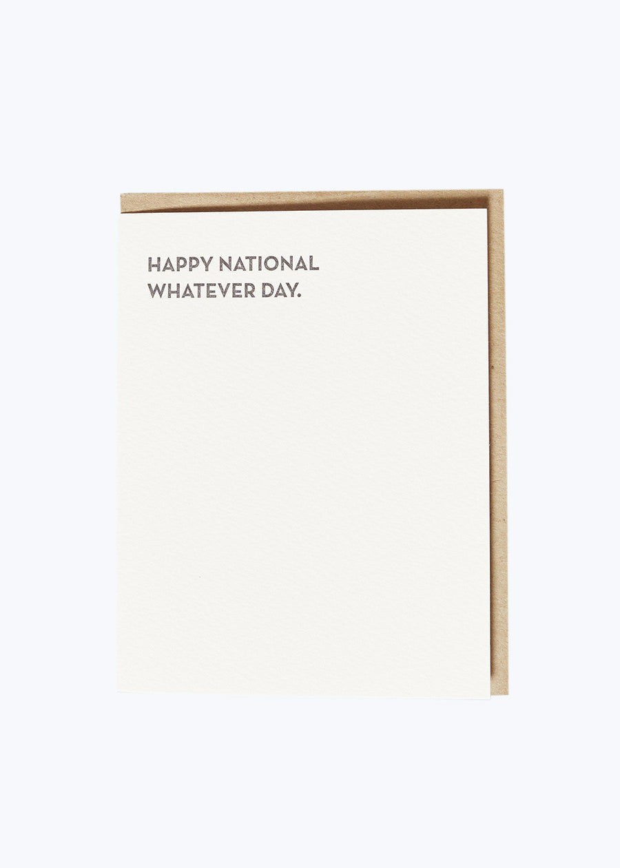Moment of Truth - Whatever Day Card