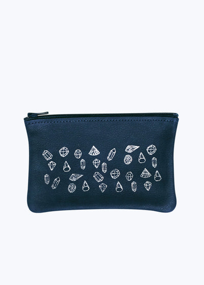 Midnight Gems Small Zip Pouch