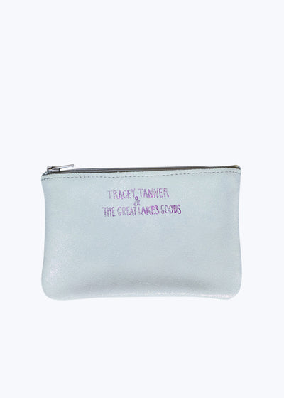 Opal Sparkle Party Small Zip Pouch