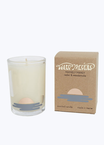 Cedar & Woodsmoke Candle