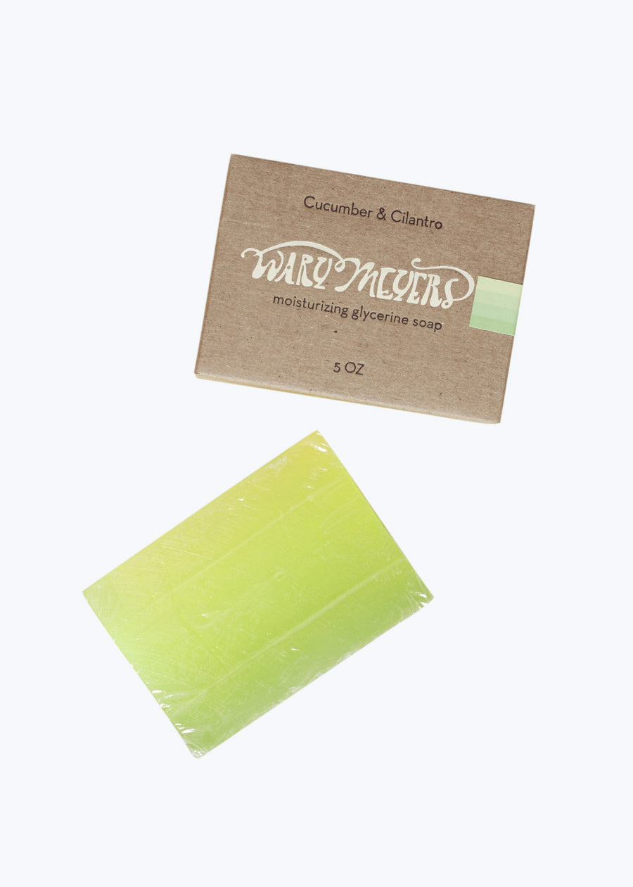 Cucumber & Cilantro Soap