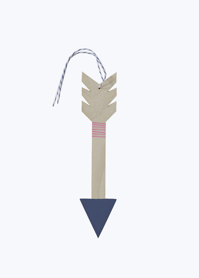 Lavender Arrow Wall Charm