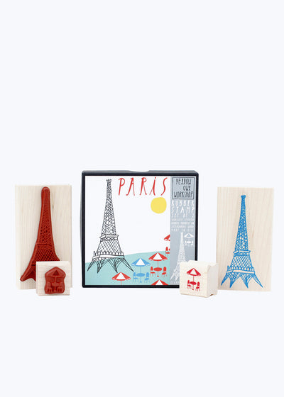 Paris Stamp Set