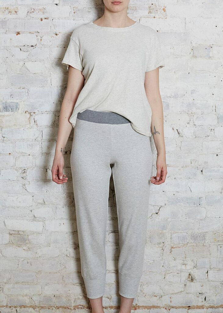 Pale Gray Sweatpant-Small