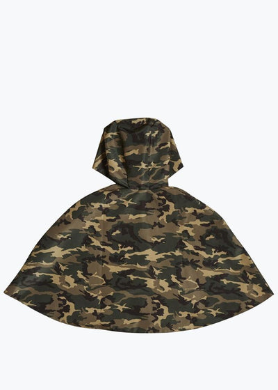 Camouflage/Pink Kids Reversible Rain Cape