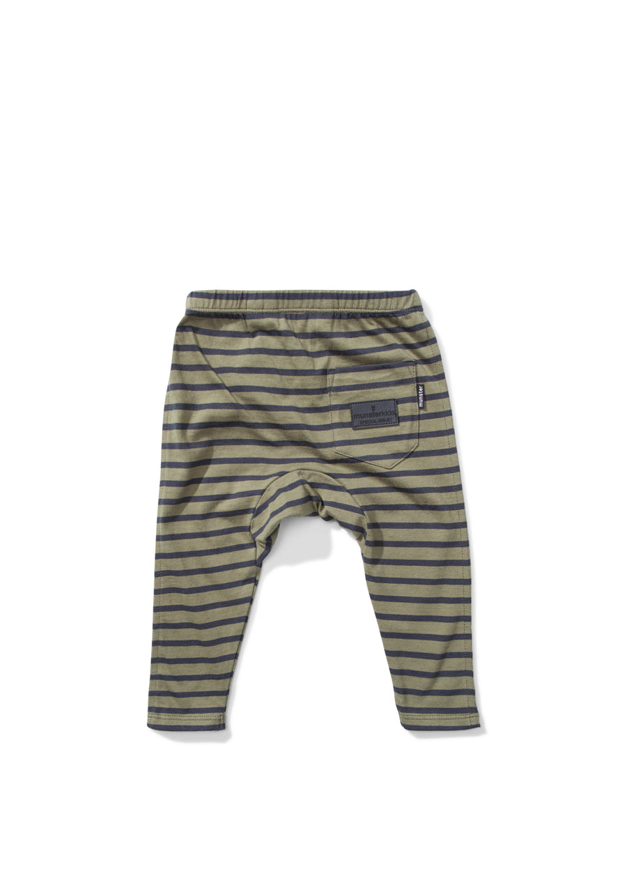 Kids Olive Wires Legging