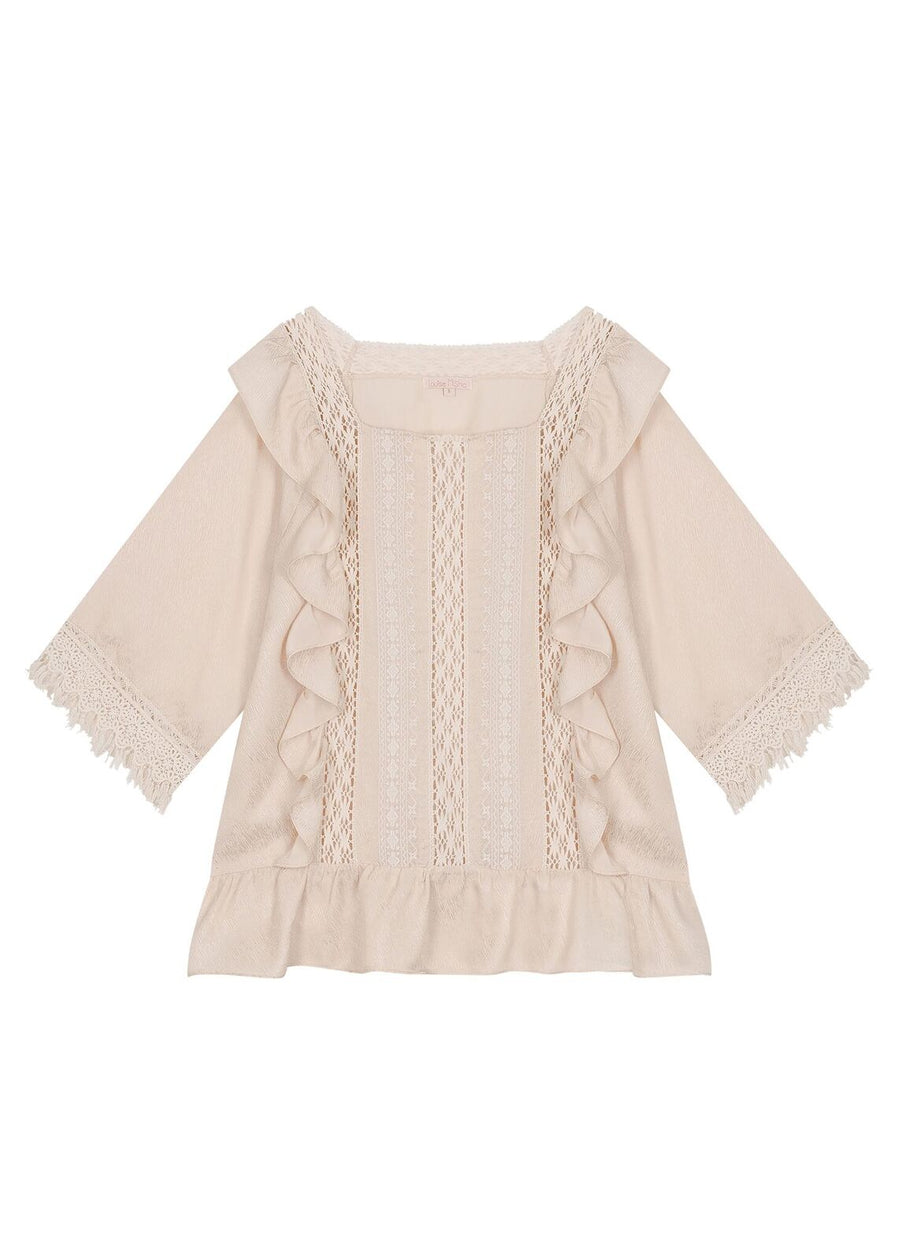 Beige Neila Top
