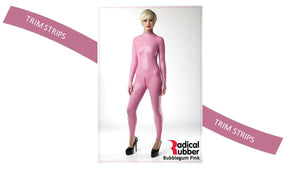 TS140 Bubblegum Pink Trim Strips pack