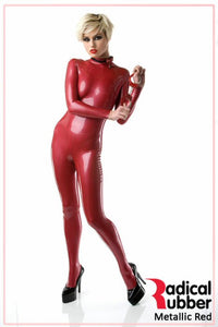 M10 Metallic Red Latex Sheeting