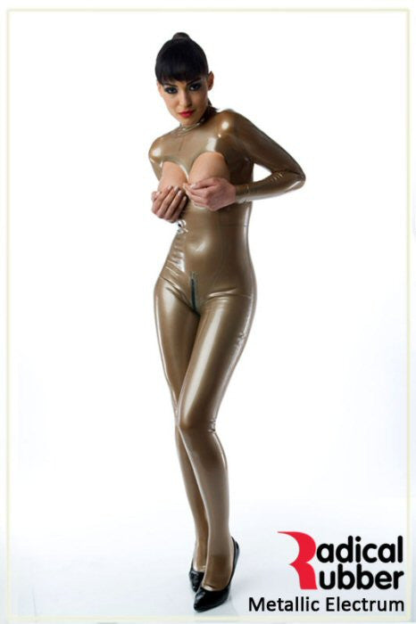 M120 Metallic Electrum Latex Sheeting