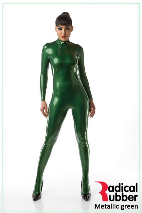 M30 Metallic Green Latex Sheeting