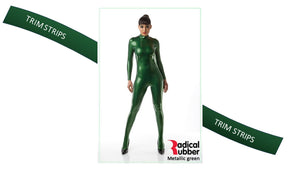TM30 Metallic Green Trim Strips pack