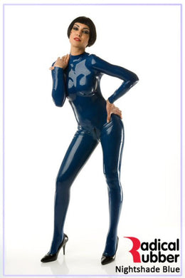 S121 Nightshade Blue Latex Sheeting