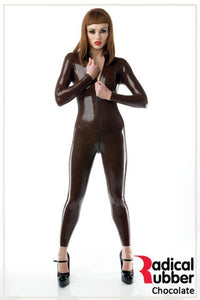 S131 Chocolate Brown Latex Sheeting