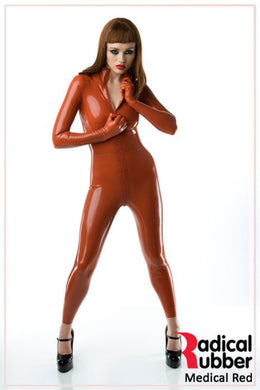 S31 Burnt Medical Orange Latex Sheeting