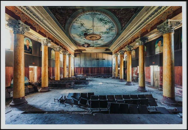 A forsaken building, abandoned theatre, limited edition photograph