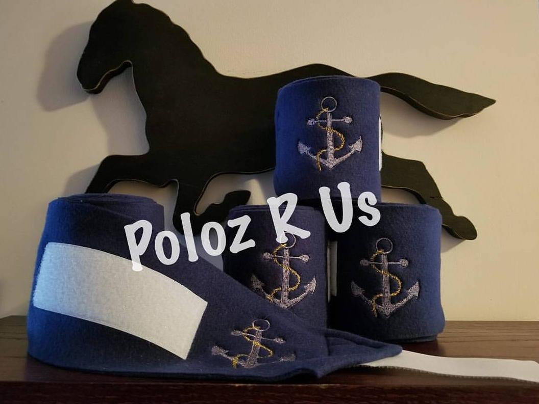 Custom Embroidered Design Polo Wraps - Horse Sized – Poloz R Us