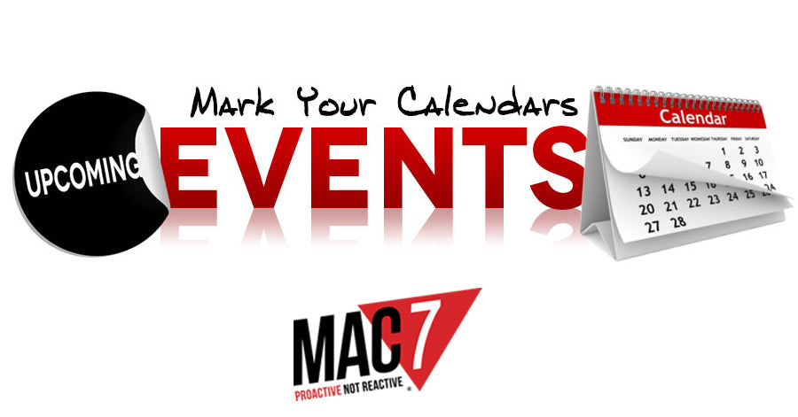 March / April 2018 Events - MAC 7 Training